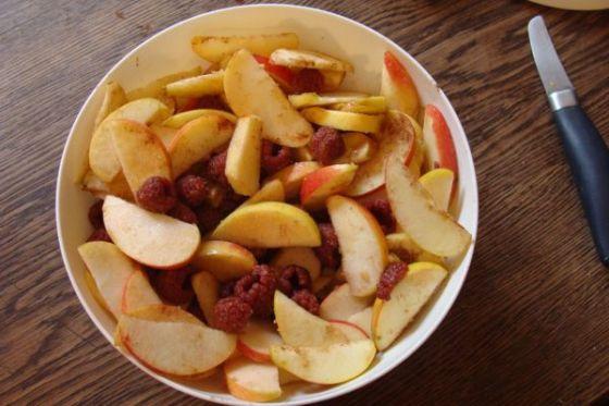 Apfelcrumble Zutaten