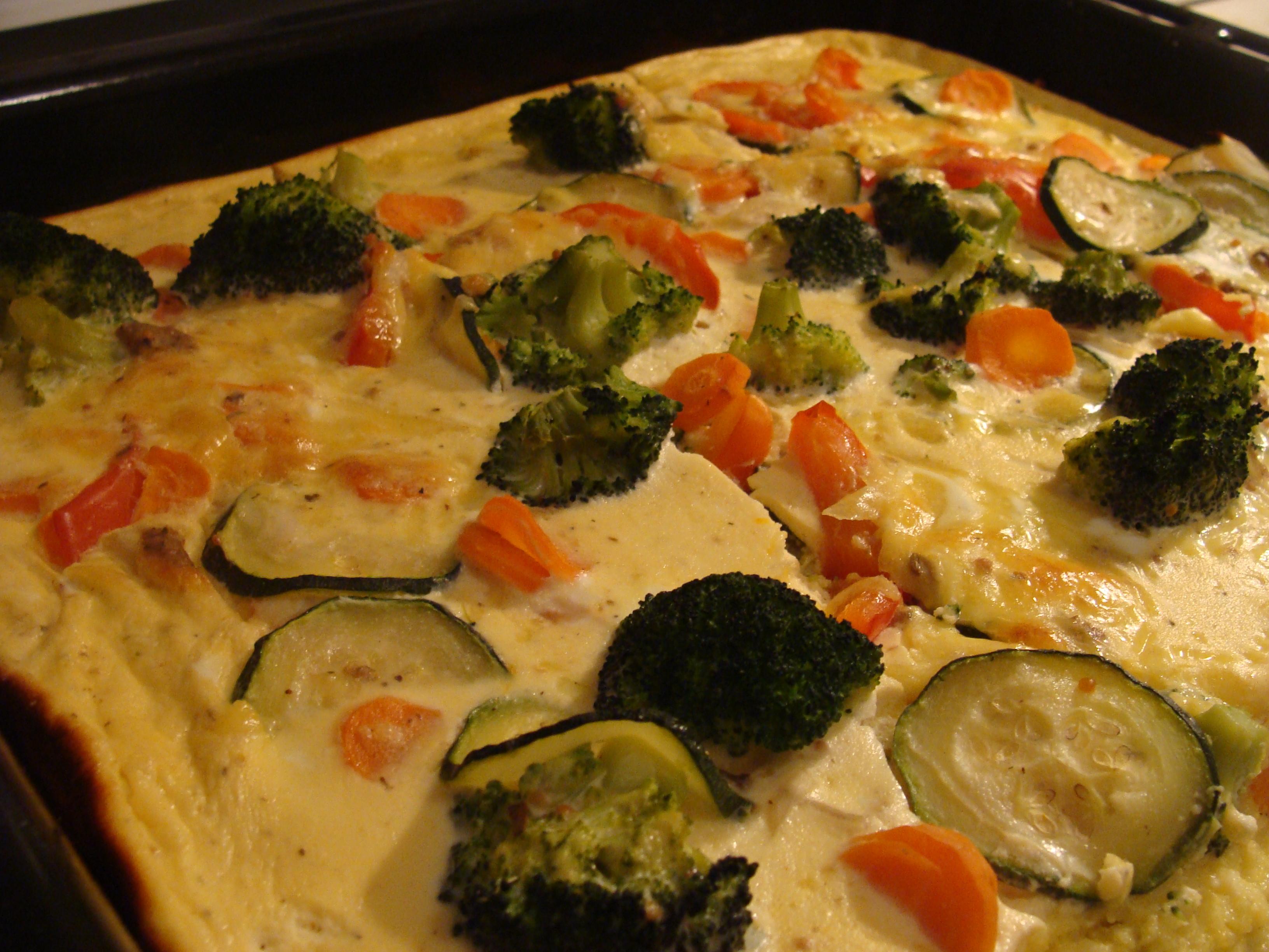 Polenta Gemüseflan Aus Dem Ofen Casa Colorata