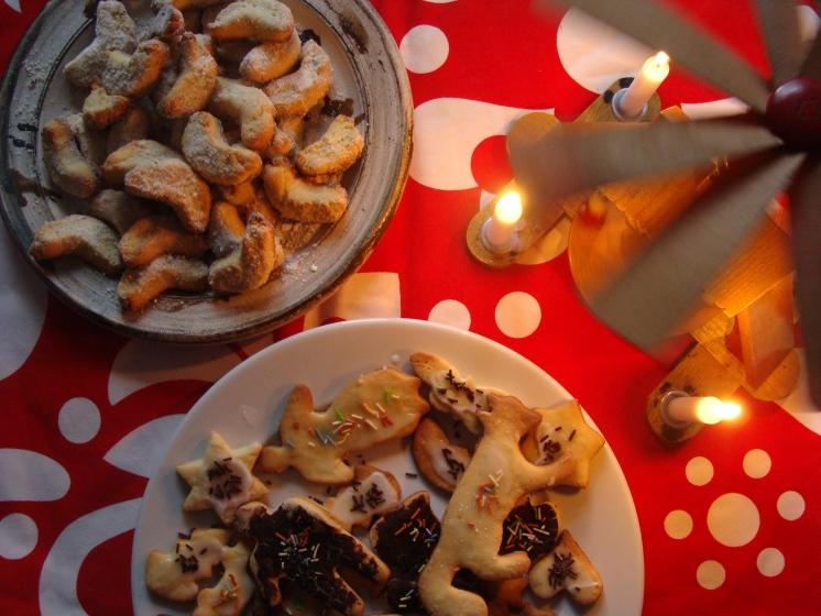 weihnachtliches sonntagss mit unumg nglichen vanillekipferln und butterpl tzchen zum. Black Bedroom Furniture Sets. Home Design Ideas