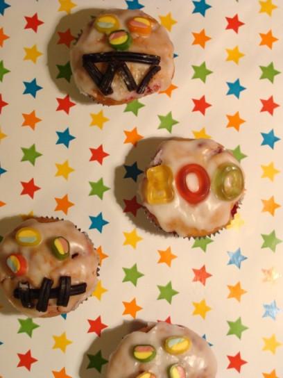 Muffins für Halloween