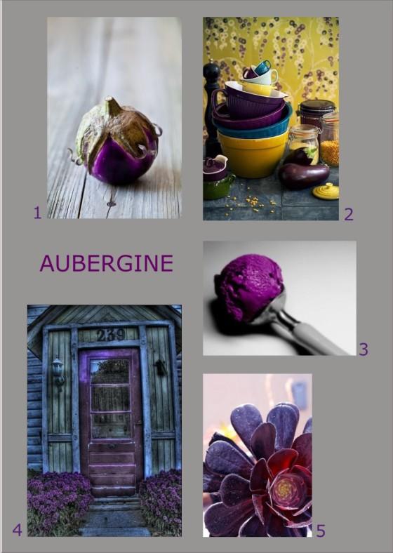Pinterest Farbinspiration Aubergine