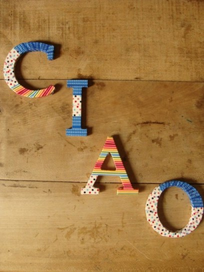 Ciao mit Masking Tape
