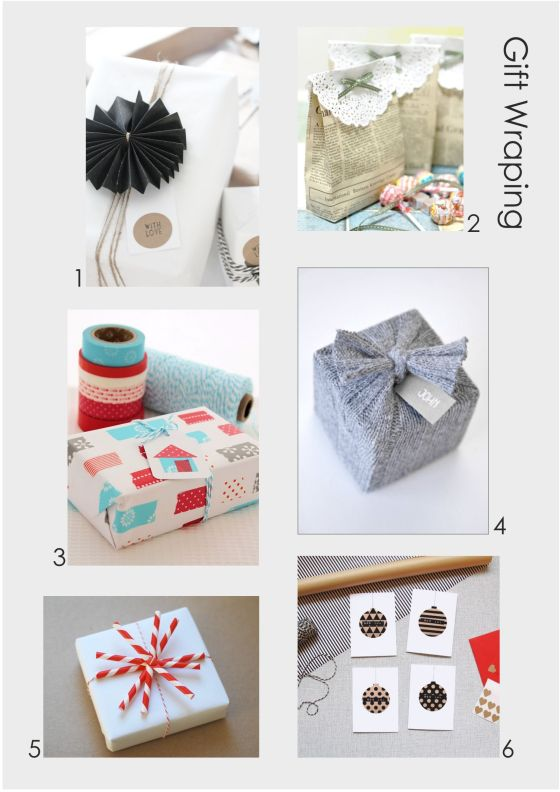 Geschenke schön vepacken
