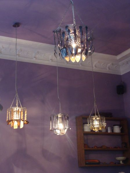 Weltküche-Lampen