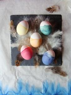 Eier gedippt