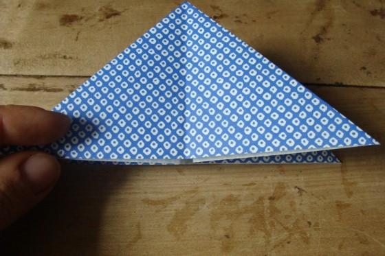 Origamipapier Dreieck