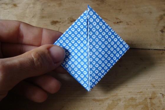 Kleines Origamirechteck
