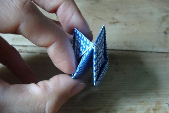 unaufgeblasener Origamiball