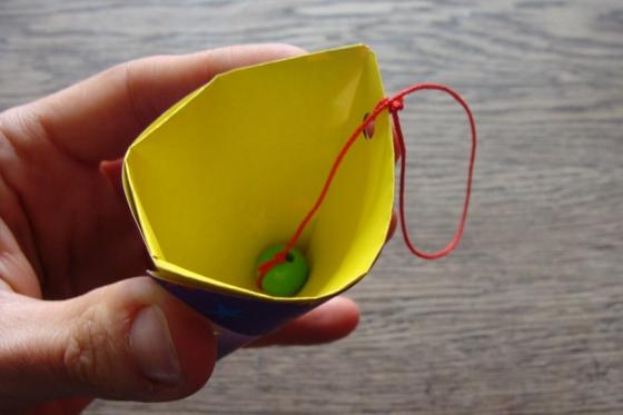 Origami Becherspiel