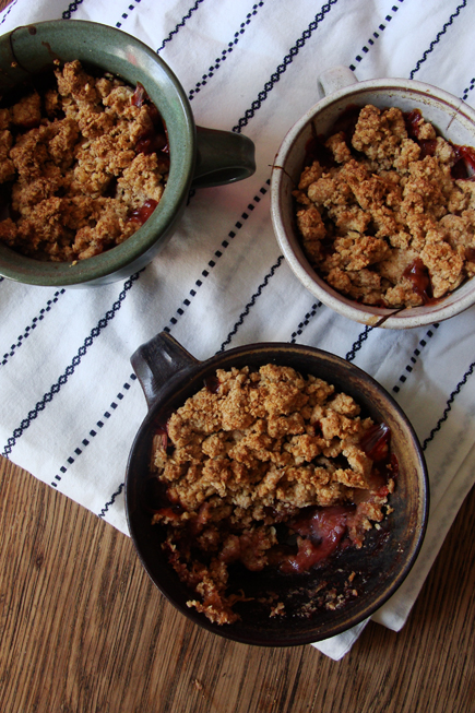 Crumble in der Tasse