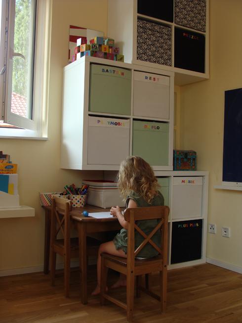 warum man auch zimmerdecken farbig streichen kann und wie aus einem unbenutztem spielbereich ein. Black Bedroom Furniture Sets. Home Design Ideas